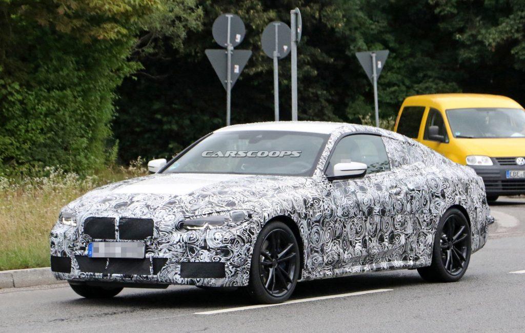 BMW Serie 4 Coupe G22 2020 Spy