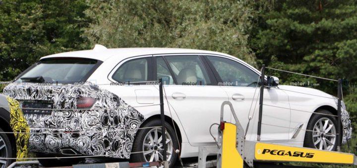 BMW Serie 5 facelift Touring G31 Spy 2020