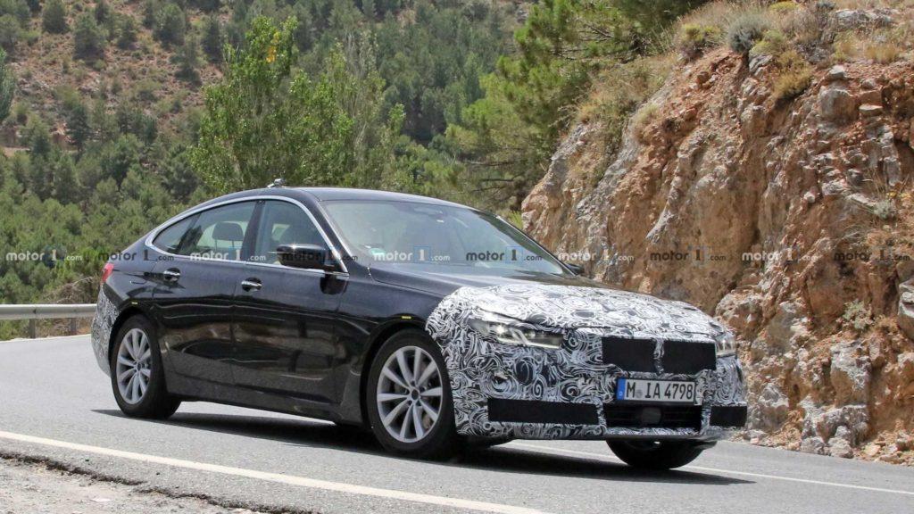 BMW Serie 6 Gran Turismo Spy 2020 - G32
