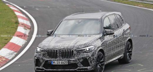 BMW X5 M F95 Spy 2020