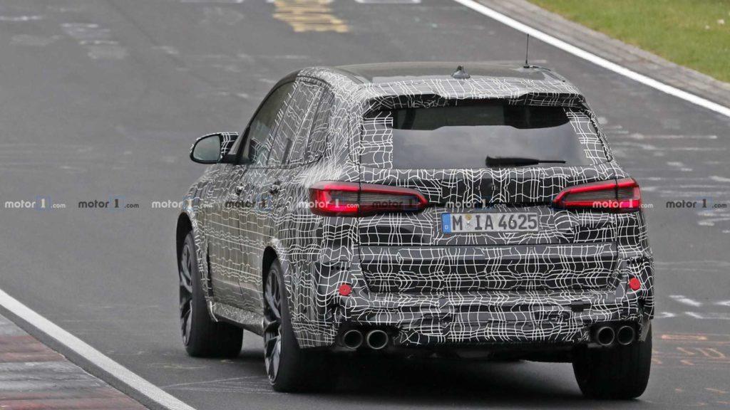 BMW X5 M F95 Spy 2020 (6)