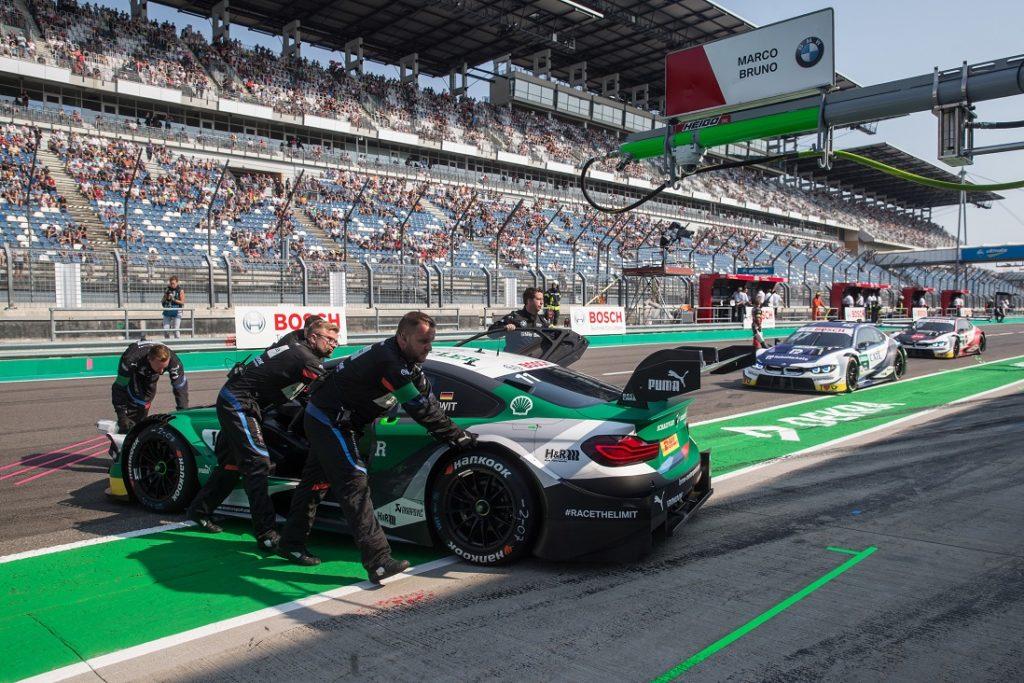 Lausitzring (GER), 25th August 2019. BMW M Motorsport, DTM Rounds 13 & 14, Marco Wittmann (GER), BMW Team RMG, #11 Schaeffler BMW M4 DTM