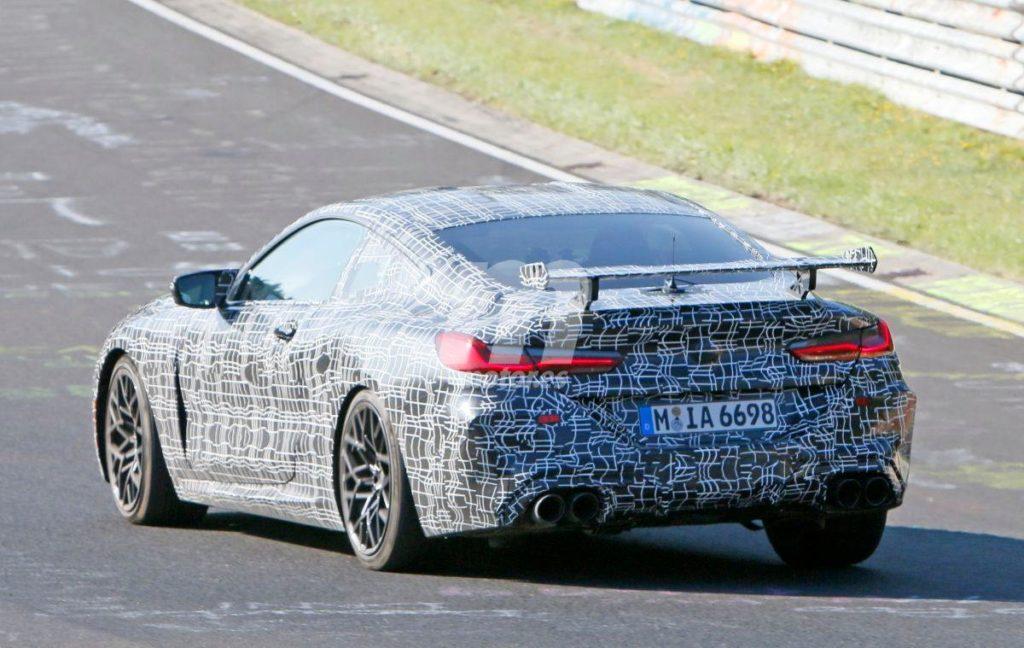 BMW M8 Competition Sport Spy