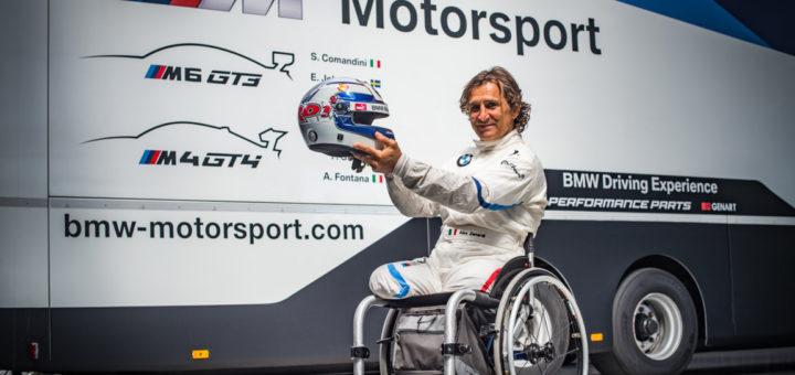 BMW Motorsport - BMW M6 GT3 - Alessandro Zanardi