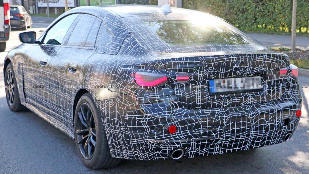 BMW Serie 4 Gran Coupe' 2021 Spy G26 - BMW 430i xDrive Gran Coupe'