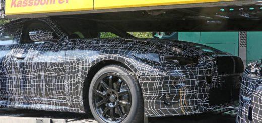 BMW Serie 4 Gran Coupe' G26 Spy 2021 - BMW 430i Gran Coupe'