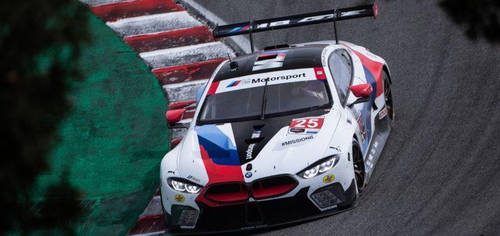 Laguna Seca (USA), 15 settembre 2019. Campionato IMSA WeatherTech SportsCar, Laguna Seca Raceway, BMW Team RLL, # 25 BMW M8 GTE.
