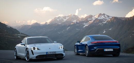 Porsche Taycan Turbo - Porsche Taycan Turbo S 2020