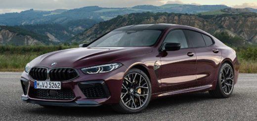 BMW M8 Gran Coupe' 2020 F93