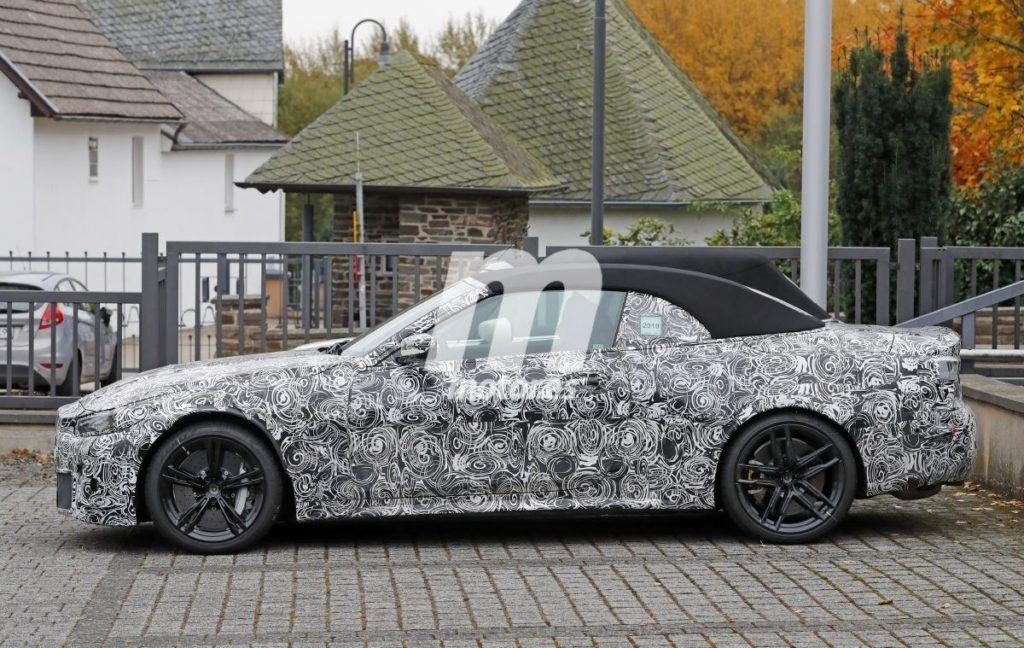 BMW M4 Cabrio 2021 G83 - Spy Nurburgring