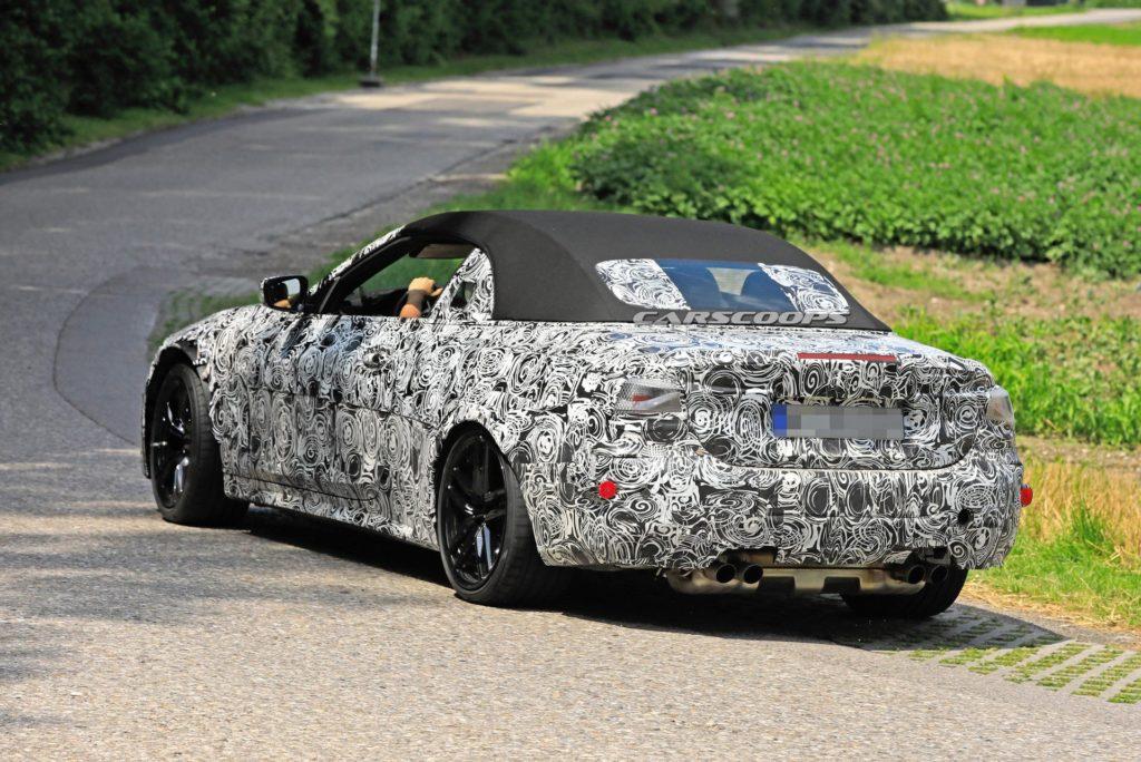 BMW M4 Cabrio 2021 Spy G83