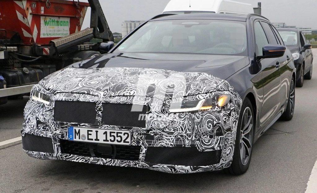 BMW Serie 5 LCI 2021 Spy G30 G31