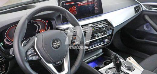 BMW Serie 5 LCI 2021 Spy Interior G30 G31