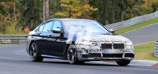 BMW Serie 5 LCI - Facelift G30 G31 Nurburgring SPY