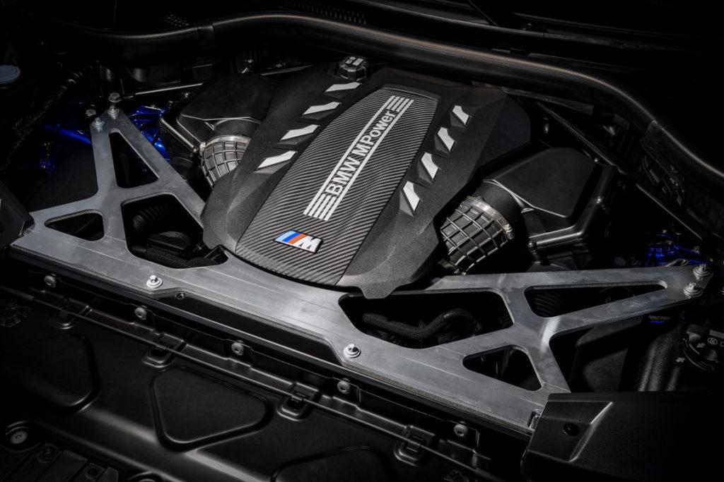 BMW X5 M F95 2020 - Engine S63TU