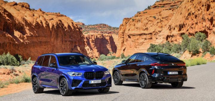 BMW X5M F95 2020 - BMW X6M F96 2020