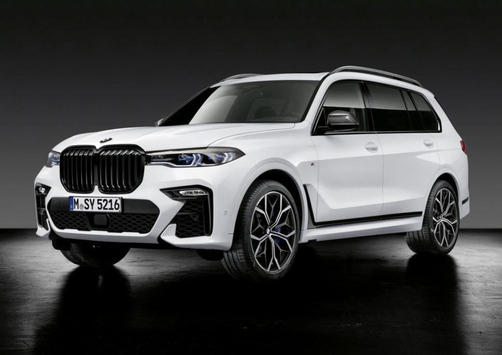 BMW X7 con BMW M Performance Parts 2020