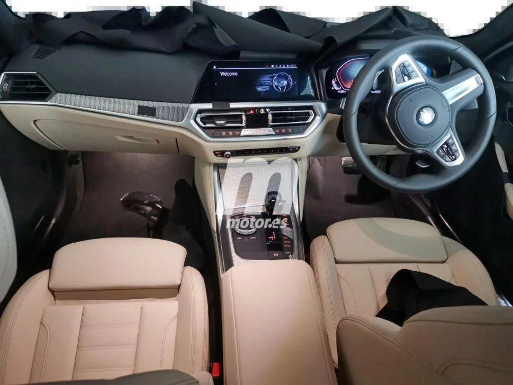 BMW Serie 4 Coupe' Spy 2021 G22