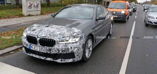 BMW Serie 5 facelift M Sport Spy G30