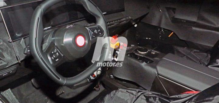 BMW iNEXT Spy Interior