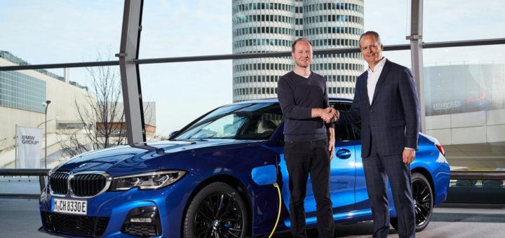 BMW i Welt - BMW 330e - BMW eDrive - BMW Group