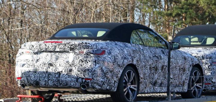 BMW Serie 4 Cabrio Spy 2020 G23