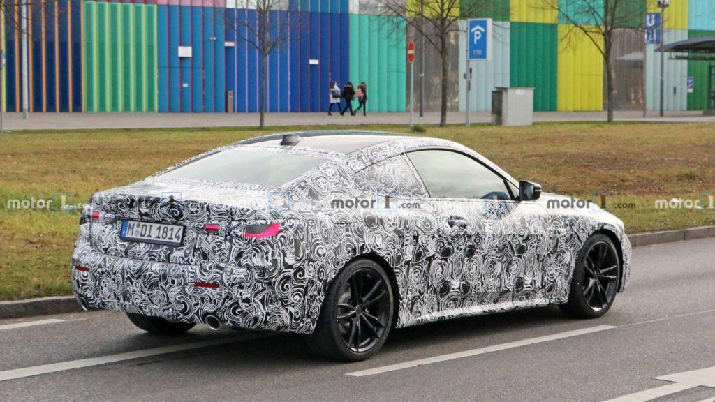 BMW Serie 4 Coupe' G22 Spy