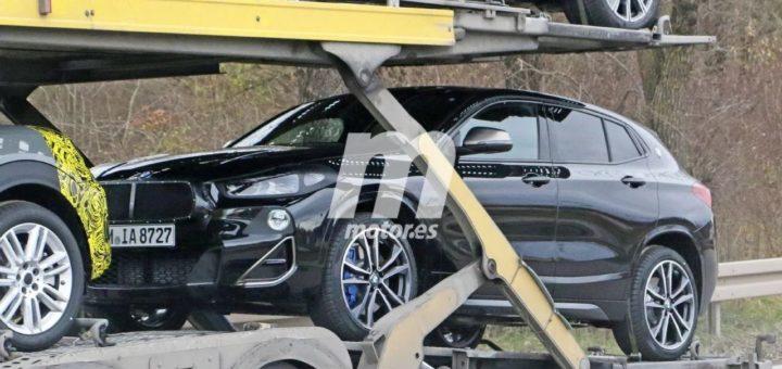 BMW X2 LCI Spy 2021