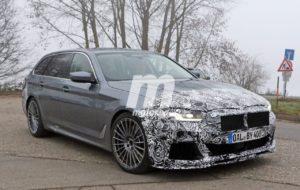 Alpina B5 Touring BiTurbo S facelift 2020 Spy - BMW Serie 5 LCI G31 Touring