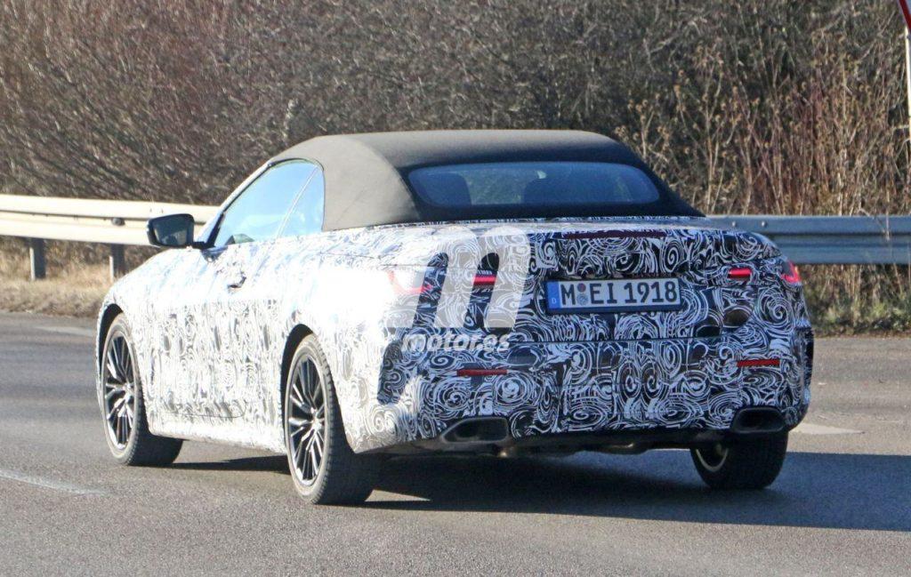 BMW Serie 4 Cabrio Spy G23