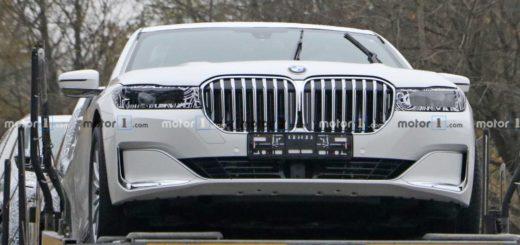 BMW Serie 7 Spy 2023