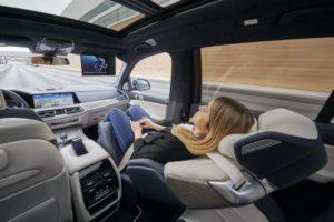 BMW X7 ZeroG Lounger Concept - CES 2020