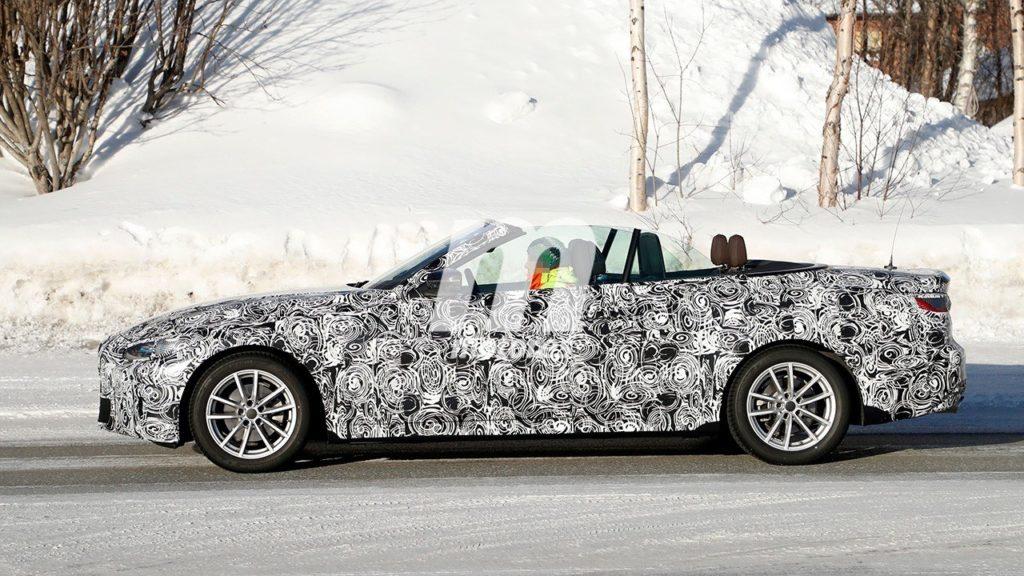 BMW serie 4 Cabrio Spy - G23 - 2020
