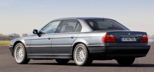 BMW 750iL V12 E38 - BMW Serie 7 - BMW 7 Series