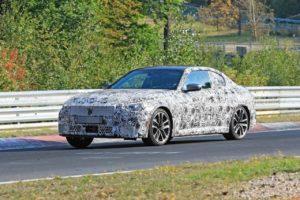 BMW Serie 2 Coupe' 2021 Spy Nurburgring (1)
