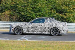 BMW Serie 2 Coupe' 2021 Spy Nurburgring (2)
