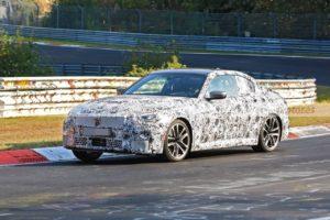 BMW Serie 2 Coupe' 2021 Spy Nurburgring