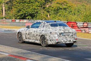 BMW Serie 2 Coupe' 2021 Spy Nurburgring (5)