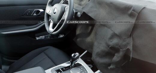 BMW Serie 3 facelift Spy 2020 G20