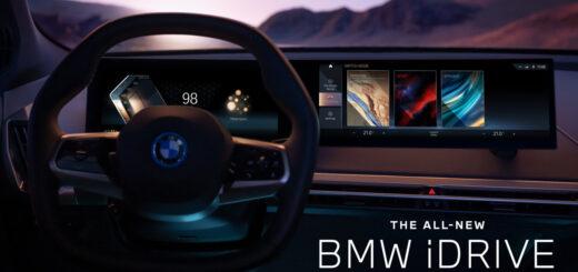 The all new BMW iDrive