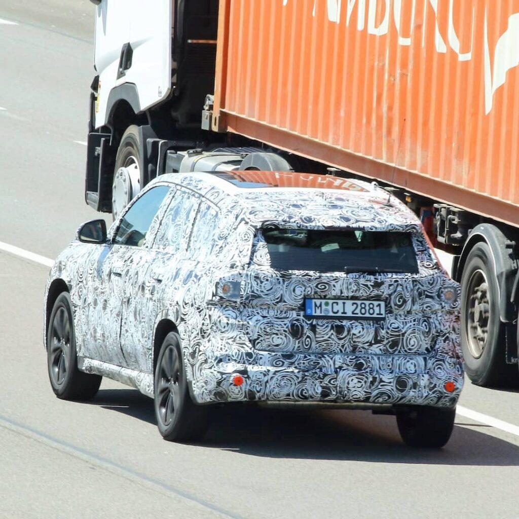 BMW X1 U11 Spy