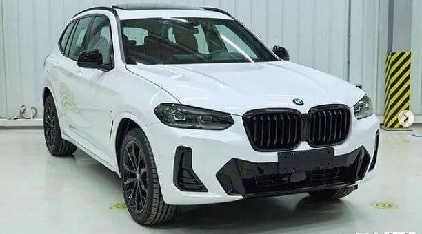 BMW X3 - BMW iX3 G08 CHN Leaked